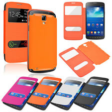 Leather Flip Case Battery Cover For SAMSUNG GALAXY S4 ACTIVE i9295