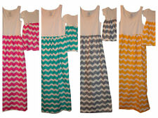 Mother and baby daughter Chevron maxi dress, mommy me matching set, mom and me