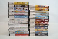 Nintendo DS/NDS Replacement Case & Manual ONLY,Original/Genuine,25 to Choose-#2