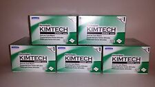 5 Boxes KIMTECH Lens Wipes & Zeiss Lens Cleaner (2 oz) Microscope/Camera/Screen