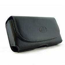 Leather Horizontal Belt Clip Case Pouch Cover for Verizon Wireless Cell Phones