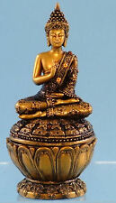 Laughing 17cm Chinese or Traditional Indian Buddha also Buddha Trinket Box Boxed