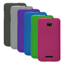 Transp Matte TPU Rubber Gel Case Cover for HTC Droid DNA