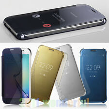 New Special offer Fashion Plating Mirror Hard PC Flip Phone Case Cover Skin