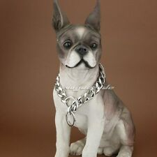 """17mm Width 316L Stainless Steel luxury Dog Chains Collars 5D005DCC 12"""" ~ 30"""""""