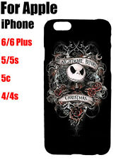Nightmare Before Christmas Jack Pattern Case Cover For iPhone Samsung Galaxy
