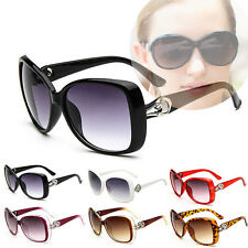 Vintage Designer Oversized Sunglasses Womens Fashion Retro Glasses Eyewear New