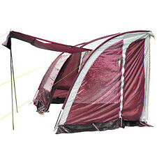 Lightweight Caravan Porch Awning Replacements Rear Pole Inner Tent Blind Curtain
