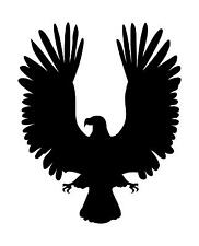 Silhouette of a Eagles Wings Symbol a Wall Art Sticker in 4 Sizes & 24 Colours