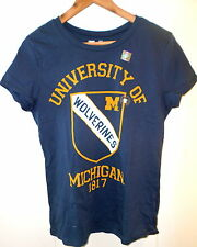 new MICHIGAN WOLVERINES  S/S Graphic T-Shirt size L (Authentic University T)
