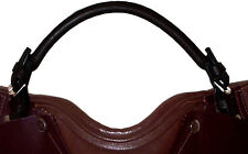 Rolled Leather English Saddle Grab Strap