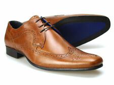 Red Tape Louth Tan Men's Leather Brogue Shoes UK 7-11 RRP £45 Free UK P&P!