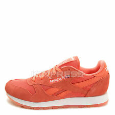 Reebok CL Leather Ice [V63515] Classic Running Coral/White