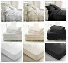 LUXURY EGYPTIAN COTTON 400 COUNT BEDDING - DUVET COVER, FITTED, FLAT, PILLOWCASE