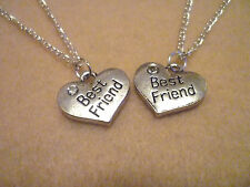 Best Friend Necklace. Single or Set of Two Necklaces. 16 Inch. Teen Jewellery