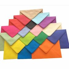 C5 Coloured Envelopes for Greeting Cards A5 / Craft Invitations Large