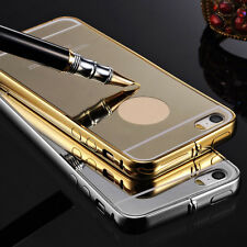 Luxury Aluminum Ultra-thin Mirror Metal Case Cover Skins Shell for iPhone 5/5S