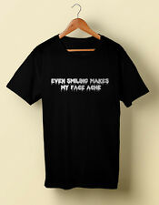 Even Smiling  Rocky Horror Picture Show tshirt T shirt  S M L XL 2X 3X 4X  5X