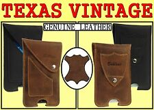 TEXAS GENUINE LEATHER VINTAGE STYLE HOLSTER CASE BELT LOOP POUCH RANGE OF MODELS