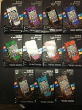 100% Authentic LifeProof Fre Case for Apple iPhone 4 & 4S Waterproof 10 colors