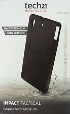 New OEM Tech21 sony xperia z1s impact tactical case + Free screen protector