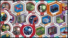 2.0 Marvel Heroes Power Discs -complete your set -*** YOU PICK***
