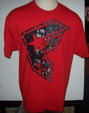 NEW FAMOUS STARS AND STRAPS  graphic tee T SHIRT red or black Small or XL