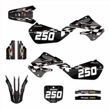 1997 1998 1999 CR125 CR250 Graphics for Honda CR 125R 250R Decals #2600 Red
