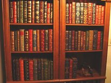 FRANKLIN LIBRARY- COMPLETE SIGNED 60 LIMITED EDITION SET - FINE GENUINE LEATHER