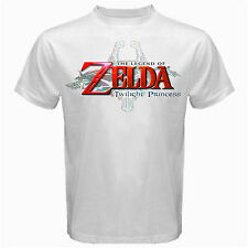 Legend of Zelda nintendo old classic retro game sega Tshirt White