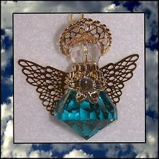 Hanging Guardian Angel Birthstone Ceiling Fan Pull, Rearview Mirror or Ornament!
