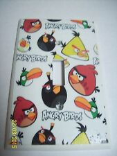 ANGRY BIRDS LIGHT SWITCH PLATE COVER & OUTLET PLATE COVERS BEDROOM DECOR U-PICK