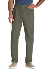 Creekwood Elastic-Waist Twill Pants Casual Male XL Big & Tall
