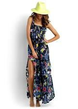 NEW Seafolly Paradise Out Rumour Maxi Dress Black Floral Size XS, S, M, L