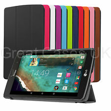 NEW PU LEATHER THIN COVER CASE WITH STAND FOR LG 8.3 X G PAD TABLET PHABLET