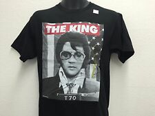 Elvis Presley The King of Rock and Roll Mug Shot Poster Men's T shirt S-2XL