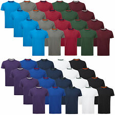 Charles Wilson Men's 4 Four Pack Short Sleeve Crew Neck T-Shirt Tee Top New SS15