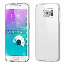 Clear Transparent TPU Soft Rubber Case Skin Cover For Samsung Galaxy S6 /S6 Edge