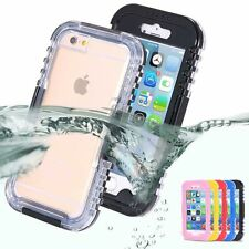 Waterproof Diving Shockproof Dirt Snow Proof Case Cover for iPhone 6S 7 PLUS 5S
