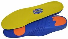 10 Seconds Pro Sport PORON Cushioning Support Performance Insoles - All Sizes!