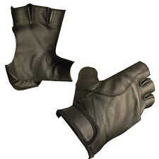 ARCHERS BOW LEATHER SHOOTING 4 HALF FINGERS GLOVE-