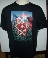 NEW LRG Lifted Research Group short sleeve t shirt  black Large or 2XL