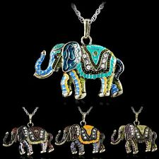 New Retro Necklace Wild Animal Elephant Sweater Long Chain Pendant Chain Jewelry
