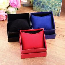 Present Gift Boxes Case Bangle Jewelry Ring Earrings Wrist Watch Display M91