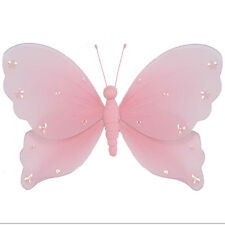 Butterfly Decor Home Interior Pink Birthday Hanging Decoration Bedroom Nursery