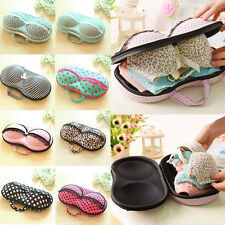 Container Underwear Case Travel Portable Storage Bag Box Protect Bra Organizer