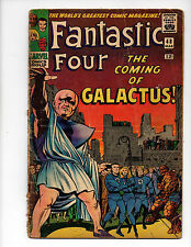 Fantastic Four #48 (1966, Marvel) 1st App Silver Surfer & Galactus, Kirby, G/G+