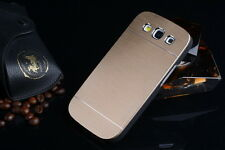 Motomo Aluminum Brushed Back Case Cover for Samsung Galaxy Grand Quattro i8552