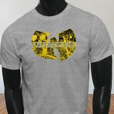 Rap Hip Hop Gza Rza ODB WU TANG CLAN COMICS Mens Gray T-Shirt