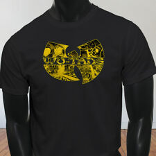 Rap Hip Hop Gza Rza ODB WU TANG CLAN COMICS Mens Black T-Shirt